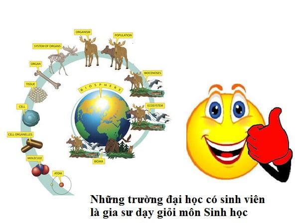Những trường đại học có sinh viên dạy Sinh học giỏi nhất Hà Nội