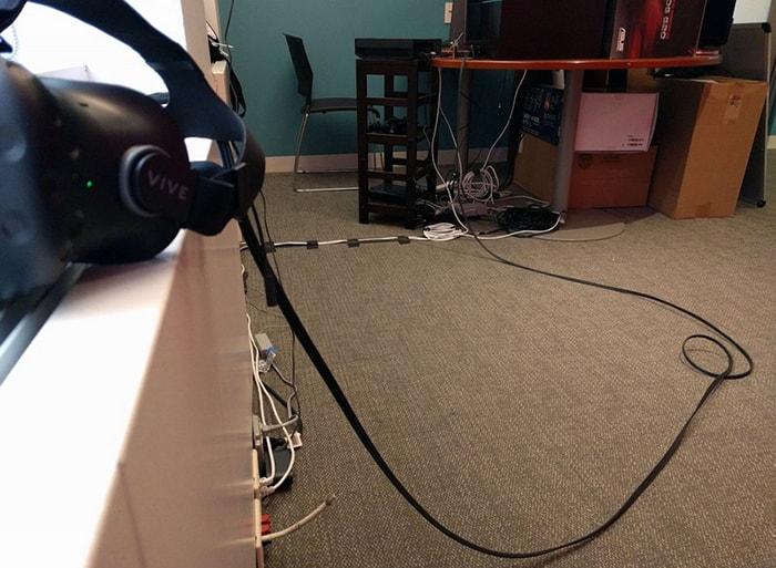 Các loại dây trong thiết bị VR