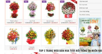 Top 5 trang web bán hoa tươi nổi tiếng tại miền Nam