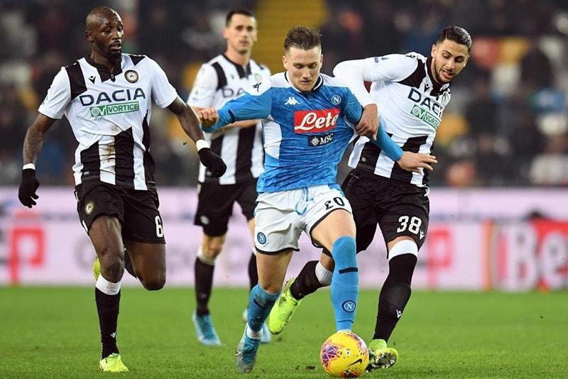 Nhận định thành tích đối đầu của Napoli vs Udinese