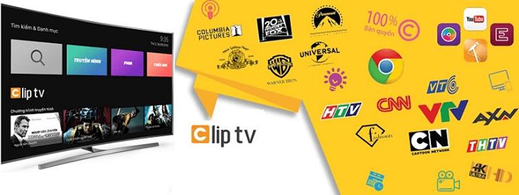 Clip TV Box là ứng dụng xem truyền hình trên Smart TV rất phổ biến