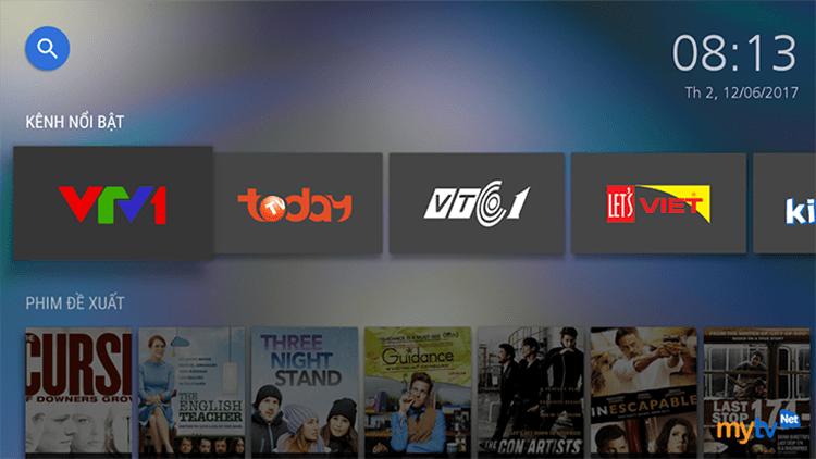 MyTV Net là ứng dụng xem truyền hình trên Smart TV rất phổ biến