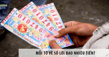 Mỗi tờ vé số lời bao nhiêu tiền? Tiết lộ từ người trong cuộc